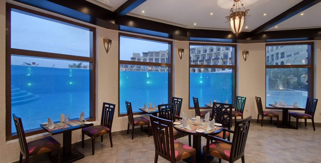 l'Al Bahar spettacolare location semi sommersa