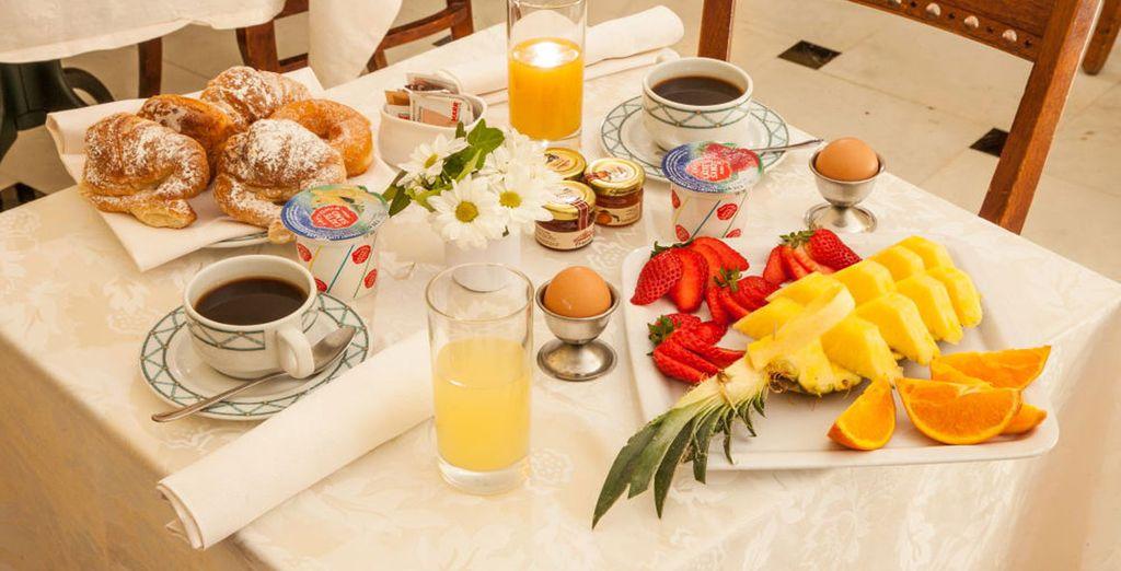 Iniziate la vostra giornata con un'ottima colazione
