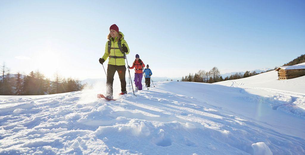 e mille possibilità per i vostri sport invernali
