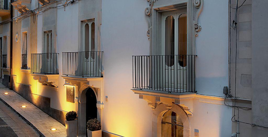 Un'antica villa in stile barocco vi attende