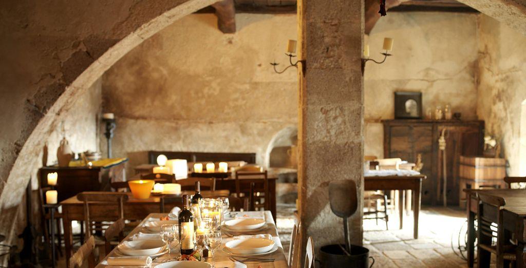 Approfittate di ricchi menù presso il ristorante dell'albergo