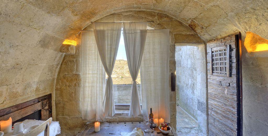 A vostra scelta potrete decidere se rilassarvi nelle Grotte Classic