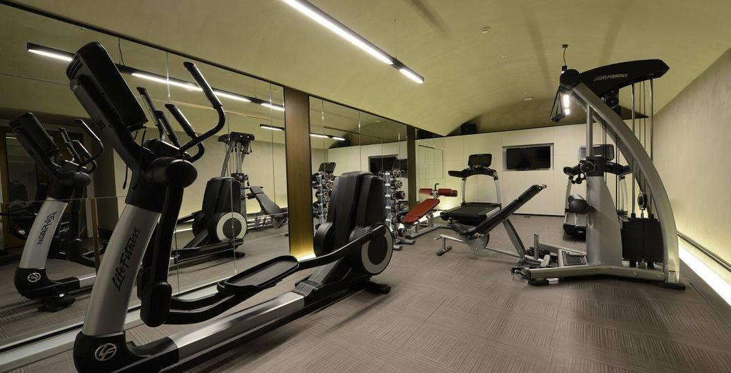 Per coloro che vogliono mantenersi in forma, l'hotel mette a disposizione una palestra dotata dei migliori attrezzi