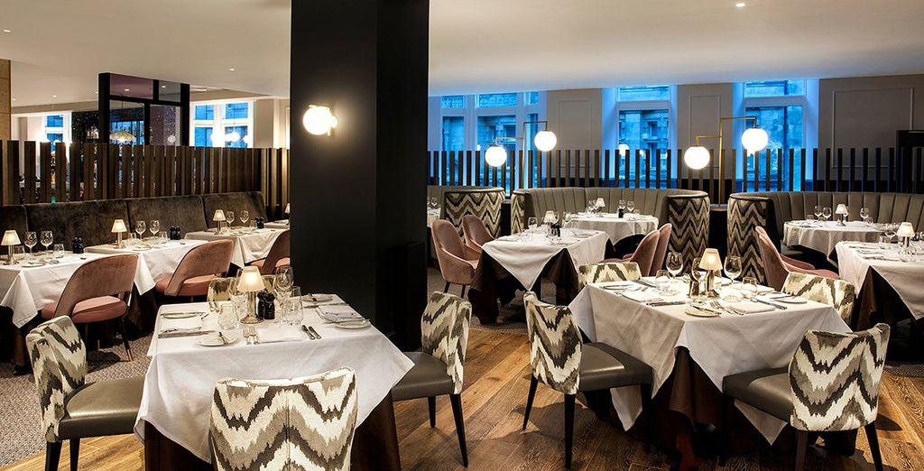 L'elegante Steakhouse dello Chef Marco Pierre White trova spazio in questo hotel