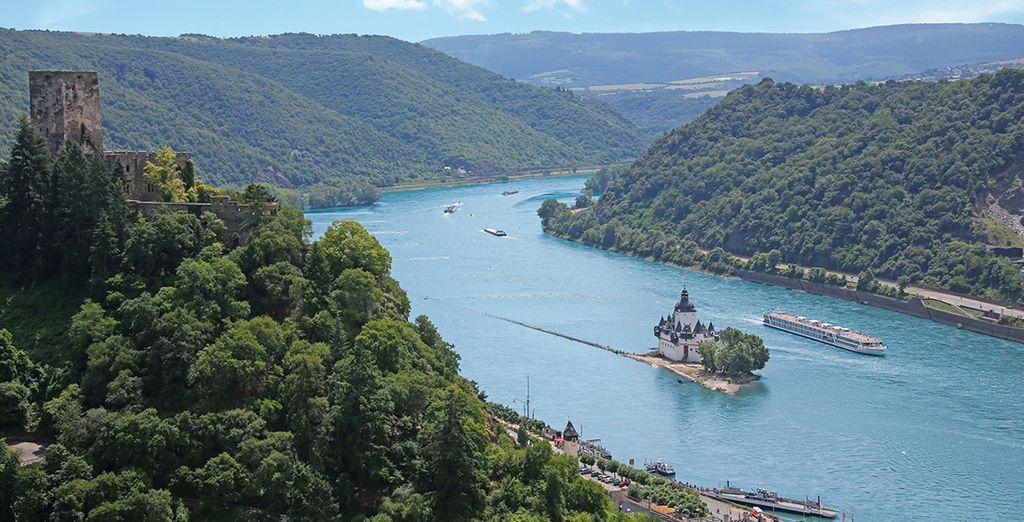 che vi condurrà alla scoperta del Danubio e del Reno