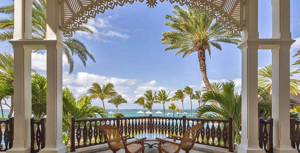 Rilassatevi nella lobby da dove ammirerete splendide viste