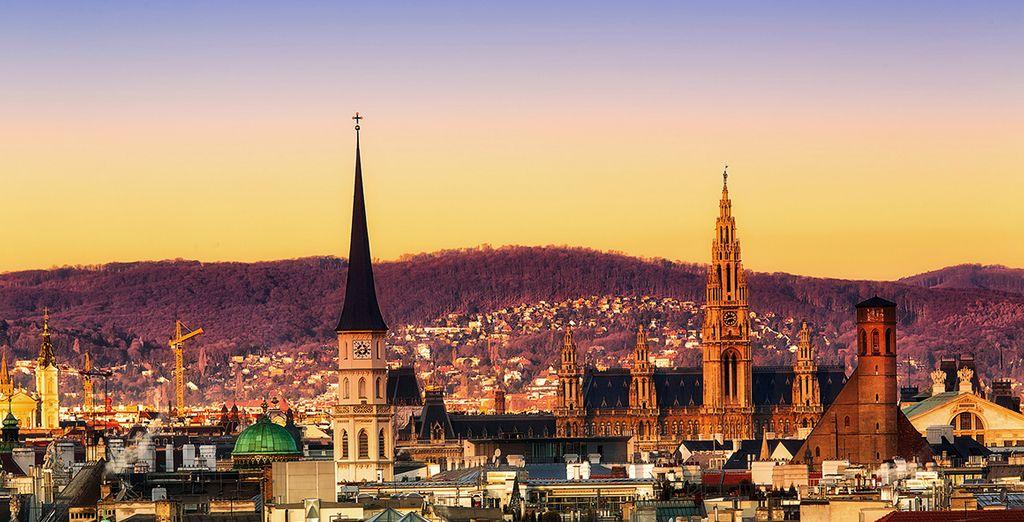 Godetevi un soggiorno nel cuore della capitale austriaca