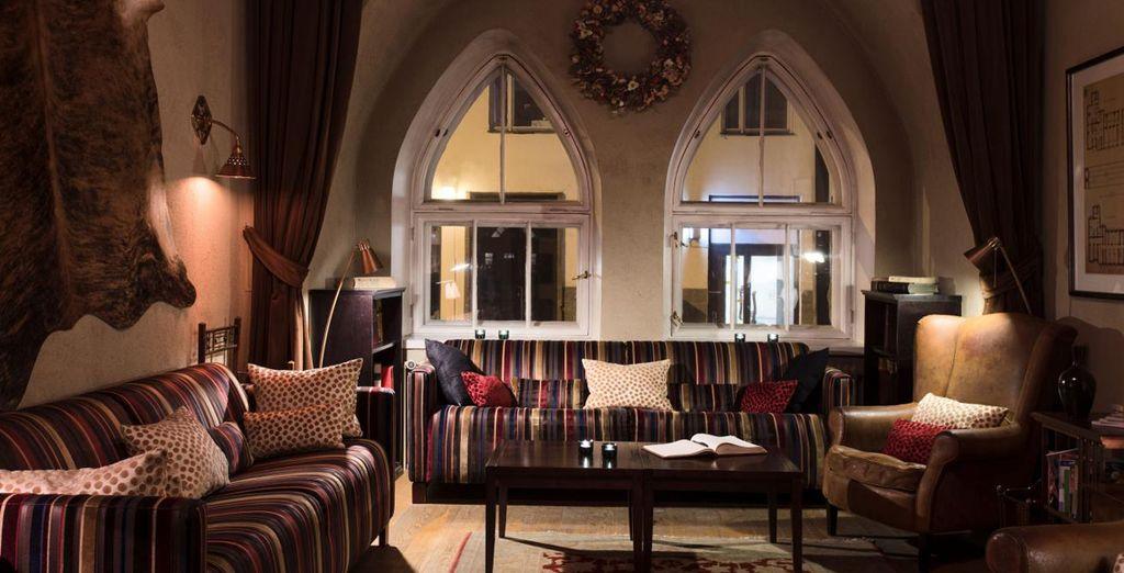 e godrete di momenti di relax in un hotel history & design