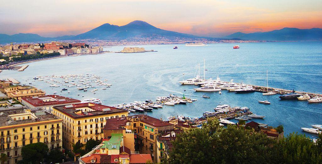 Non perdetevi gli scenari da favola di Napoli