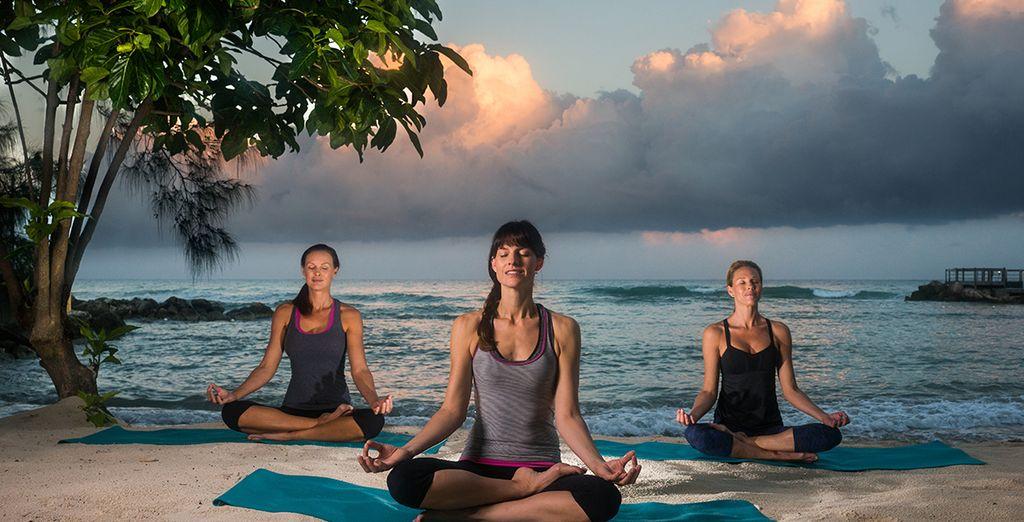 troverete le lezioni di Yoga rigeneranti