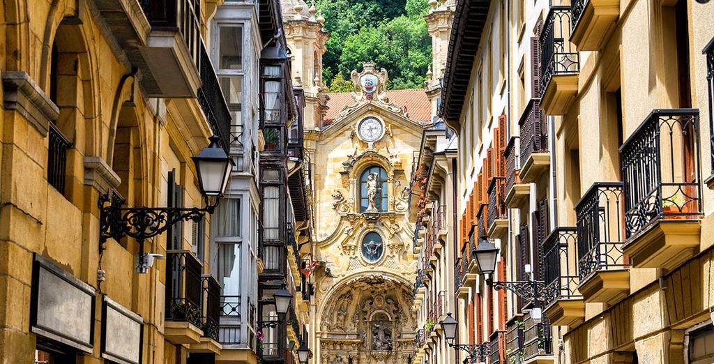 Passeggiate per il centro storico