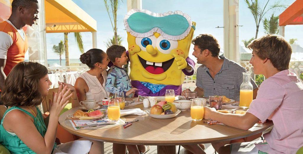 Prenotate la colazione con i vostri personaggi preferiti