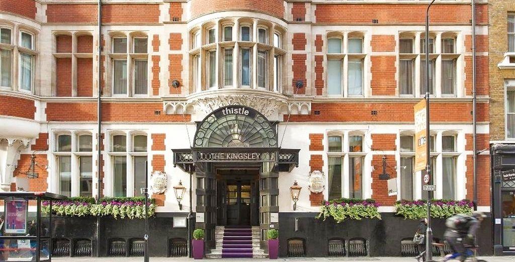 Avete voglia di un soggiorno chic e alla moda nella capitale inglese?