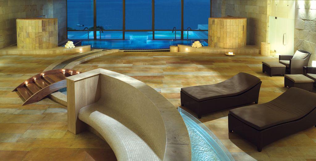 La SPA dell'hotel vi regalerà momenti indimenticabili di benessere