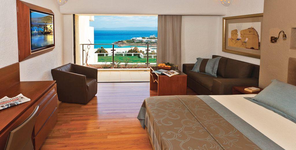 Meravigliose camere Porto vista mare vi aspettano