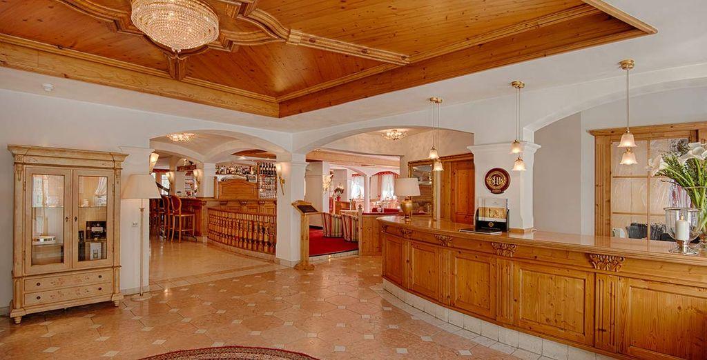 Il vostro elegante hotel 4*S