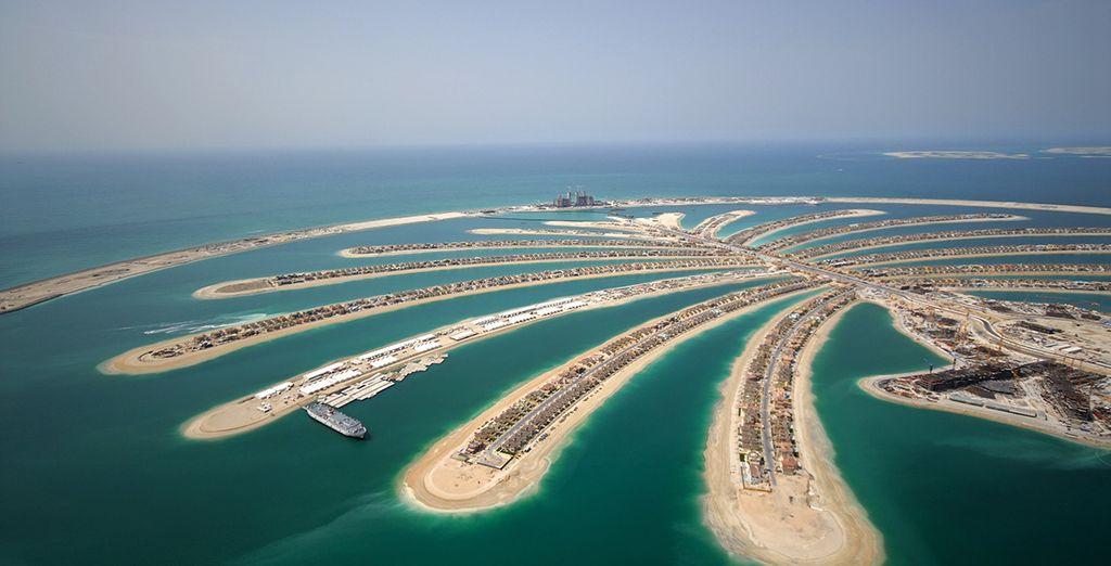 Ammirate poi le bellezze di Dubai, come la Jumeirah