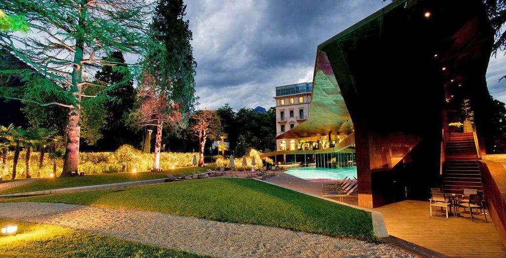 Hotel Lido Palace 5* vi apre le sue porte, immerso in un parco secolare
