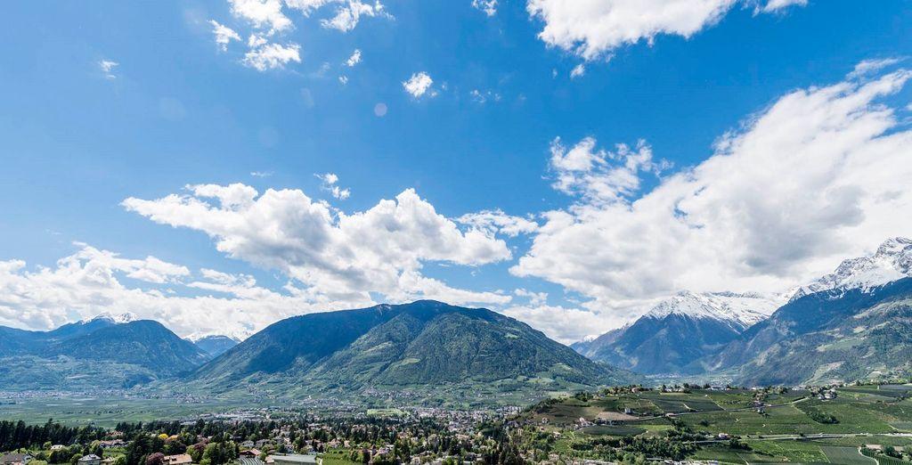 Scegliete Merano per le vostre vacanze in montagna