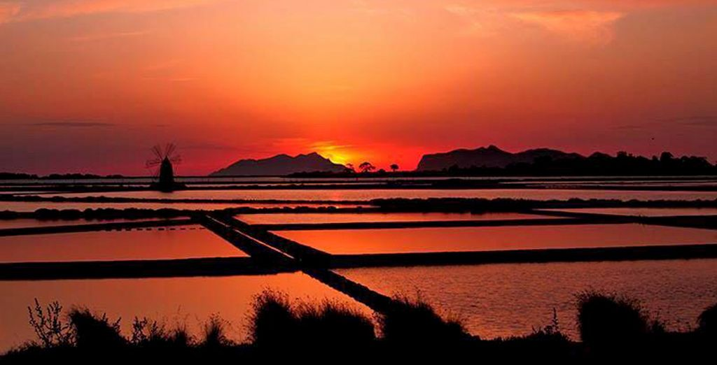E rimarrete stupiti dalla bellezze dei tramonti in questo territorio unico al mondo.