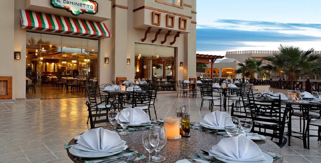 o il ristorante italiano Il Caminetto