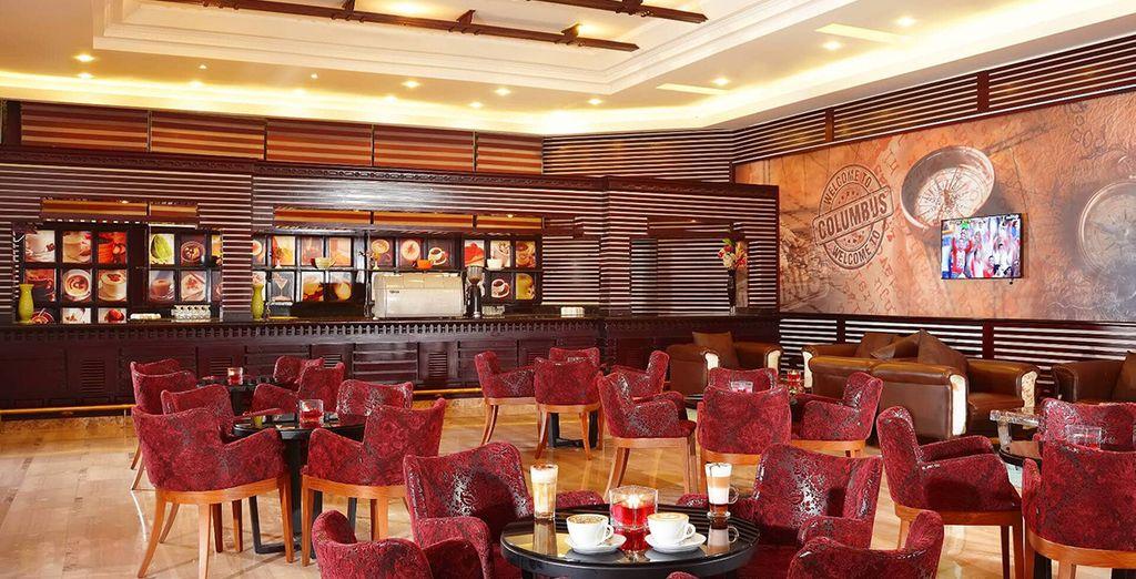 Il bar columbus vi delizierà con cappuccini e caffè speciali