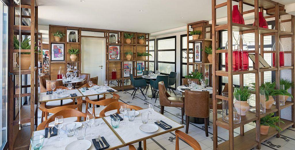 Il moderno ristorante ATIK vi accoglie in un ambiente moderno