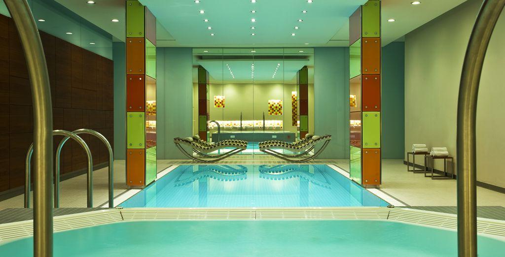 Hotel di alta gamma nel centro di Vienna con piscina, spa e area relax