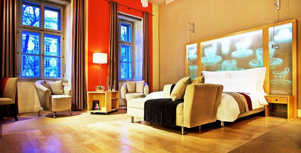 Hotel 5 stelle lusso a Vienna, camera doppia con tutti i comfort selezionati da Voyage Privé