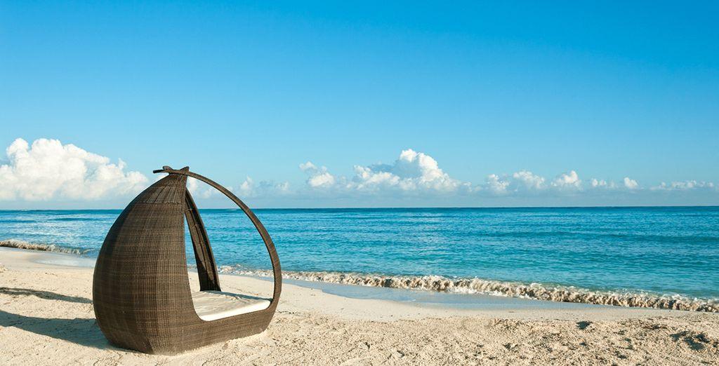 La spiaggia vi aspetta