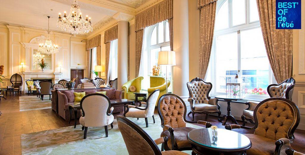 Benvenuti al Grosvenor Hotel, una struttura elegante dai toni classici