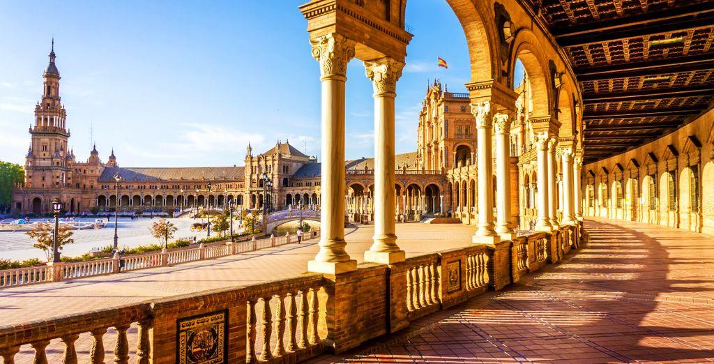 Rimarrete colpiti dal fascino di Siviglia