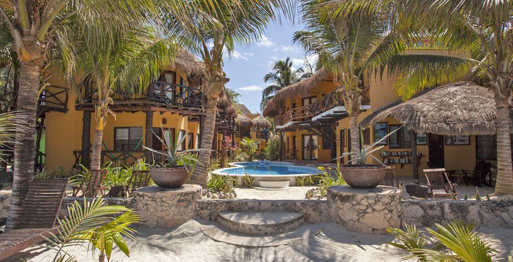 presso l'hotel Holbox Dreams 4*