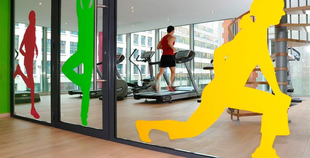 e di un attrezzato fitness center per l'attività fisica