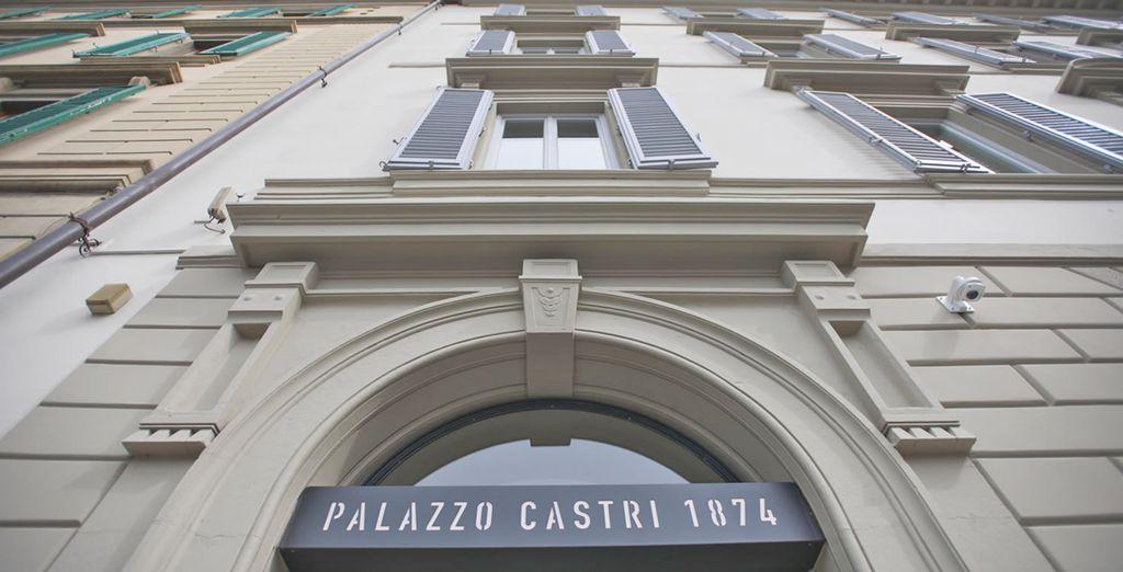 Il Palazzo Castri 1874 è pronto a darvi il benvenuto