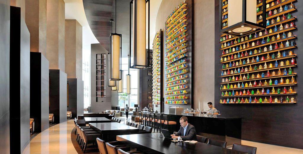 Ambienti esclusivi, numerose proposte ristorative come il The Lounge vi attendono