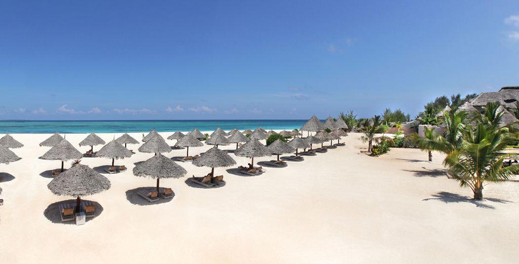 Il Gold Zanzibar Beach Resort & Spa vi attende per una vacanza a 5*