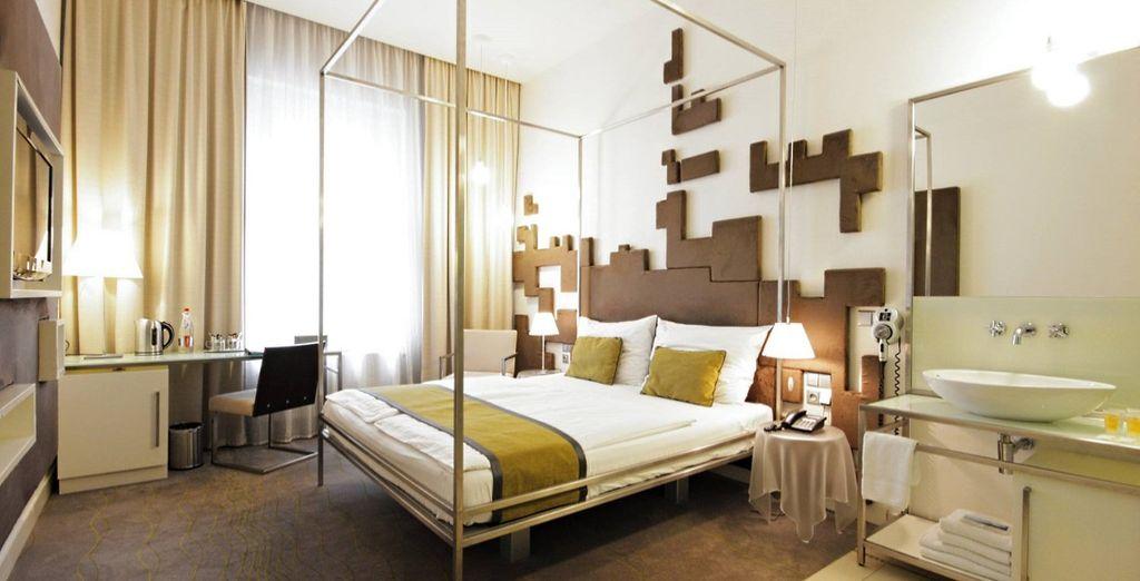 Partite per un soggiorno di design e di comfort