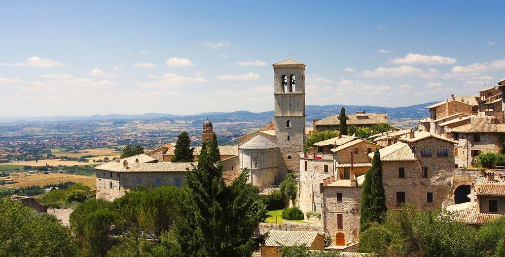 o dopo aver trascorso una giornata alla scoperta di Assisi
