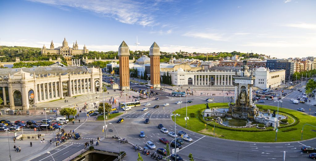 Godetevi il vostro soggiorno nella magica Barcellona.