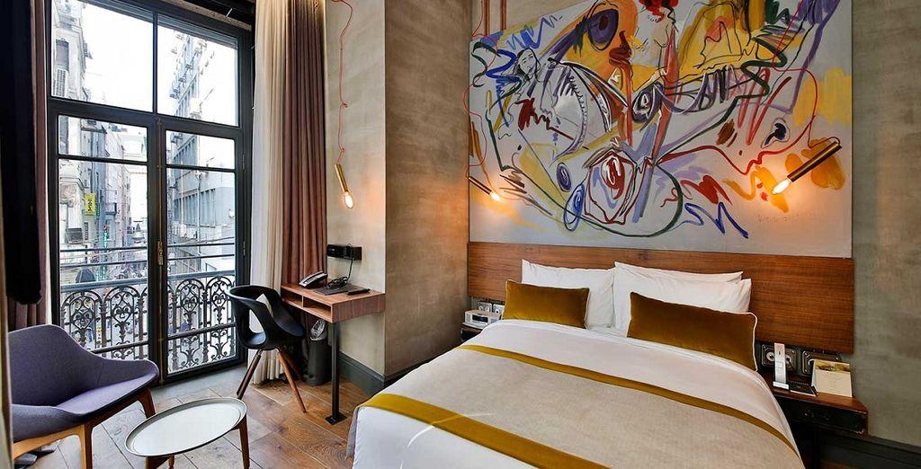L'Hotel Occidental The Public 4* è pronto ad ospitarvi nel cuore di Istanbul in comode ed eleganti camere Superior