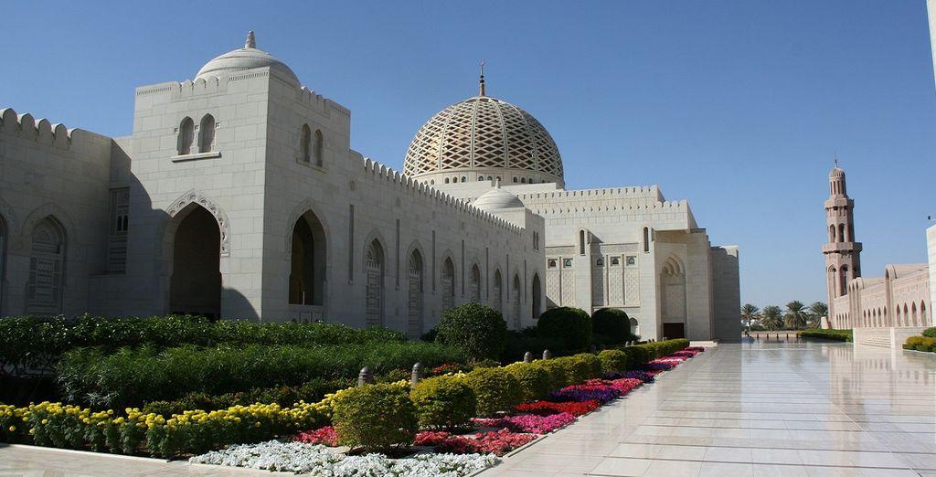 La famosissima moschea