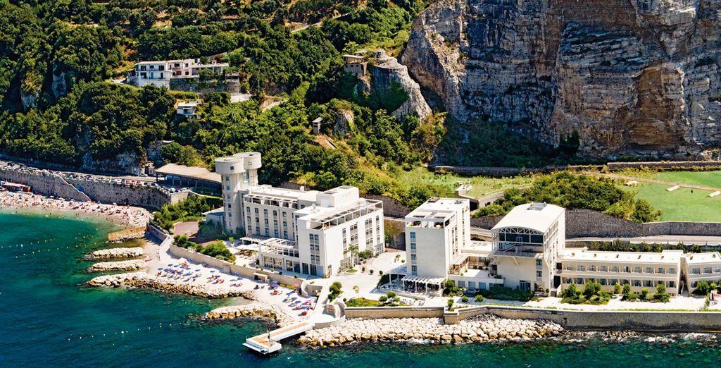 Il vostro hotel fronte mare dal quale godere di panorami unici