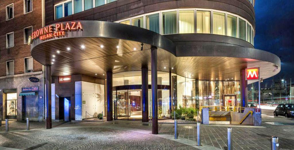 Il Crowne Plaza Milan City 4* vi dà il benvenuto