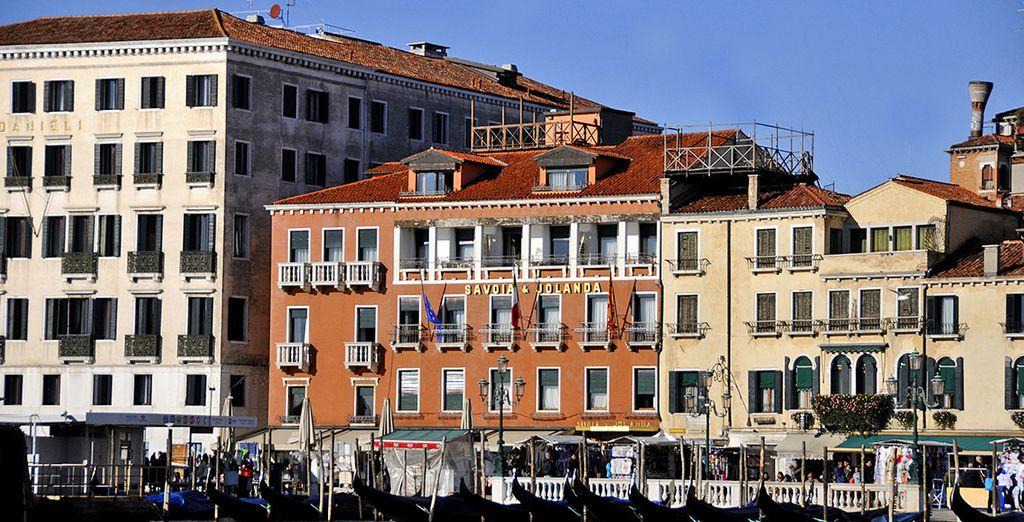L'Hotel Savoia & Jolanda è pronto ad accogliervi
