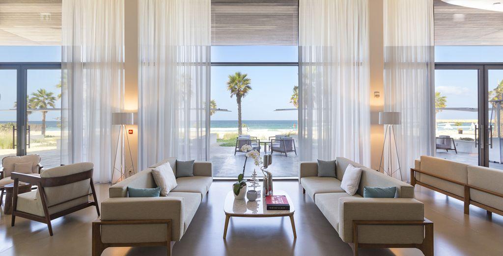 Uno splendido hotel caratterizzato da eleganti ambienti dal design contemporaneo
