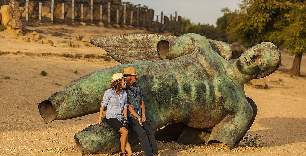e potrete toccare con mano la storia di questi famosi reperti archeologici