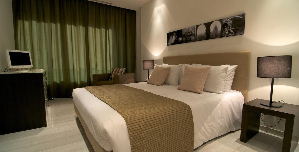 Dove soggiornerete in splendide Grand Suite