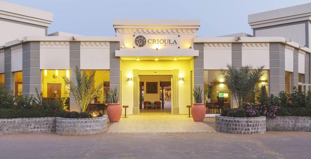 Un moderno resort 4*