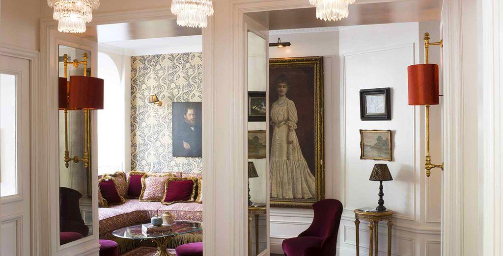 che vi colpirà per i suoi richiami alla storica architettura parigina